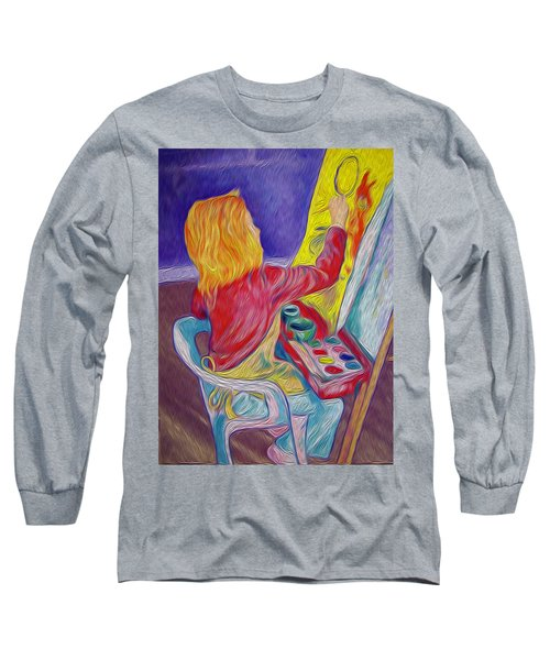 Little Ali Artist Long Sleeve T-Shirt