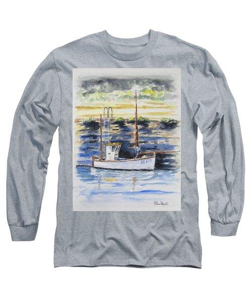 Little Fishing Boat Long Sleeve T-Shirt