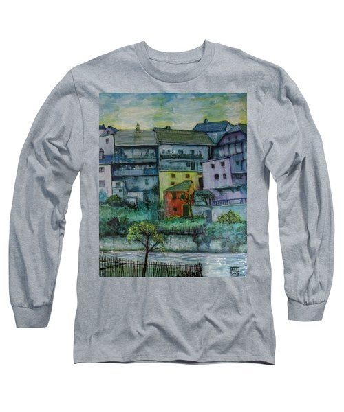 River Homes Long Sleeve T-Shirt by Ron Richard Baviello
