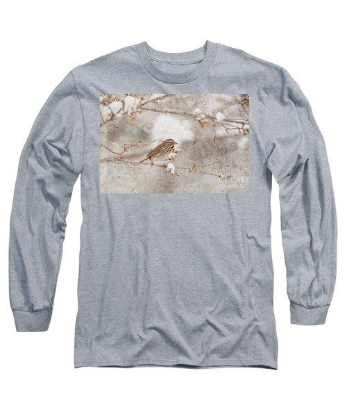 Little House Sparrow Long Sleeve T-Shirt