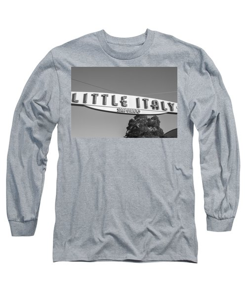 Little Italy Monochrome Long Sleeve T-Shirt