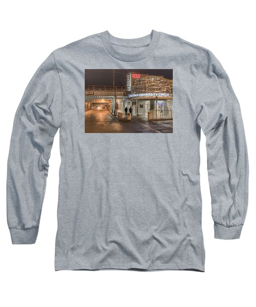 Long Sleeve T-Shirt featuring the photograph Little Italy Rta by Brent Durken