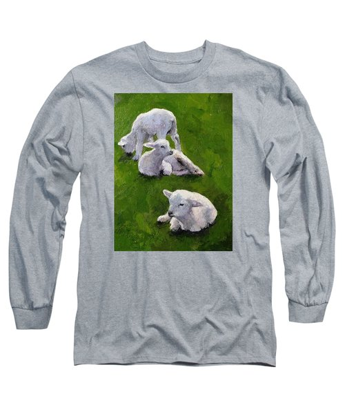 Little Lambs Long Sleeve T-Shirt