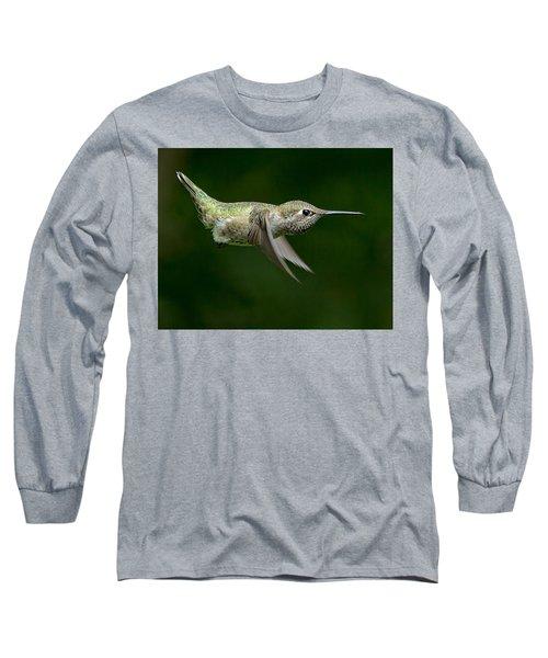 Little Missle Long Sleeve T-Shirt by Sheldon Bilsker