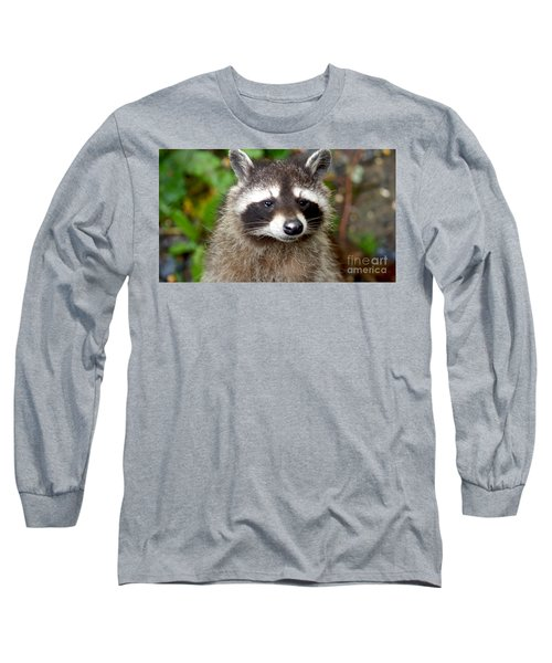 Little Racoon - Procyon Lotor Long Sleeve T-Shirt