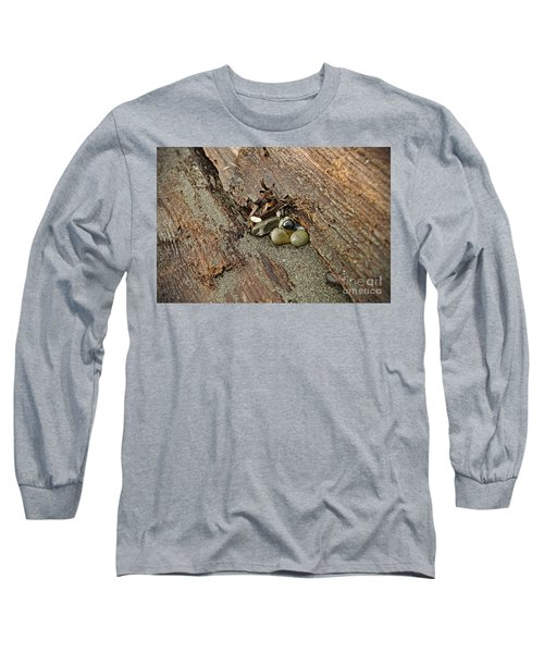 Long Sleeve T-Shirt featuring the photograph Little Rocks by Cendrine Marrouat