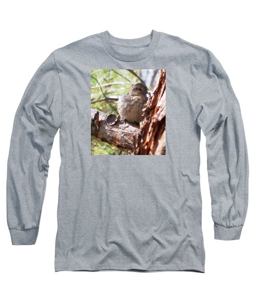 Little Shy Long Sleeve T-Shirt by Marika Evanson