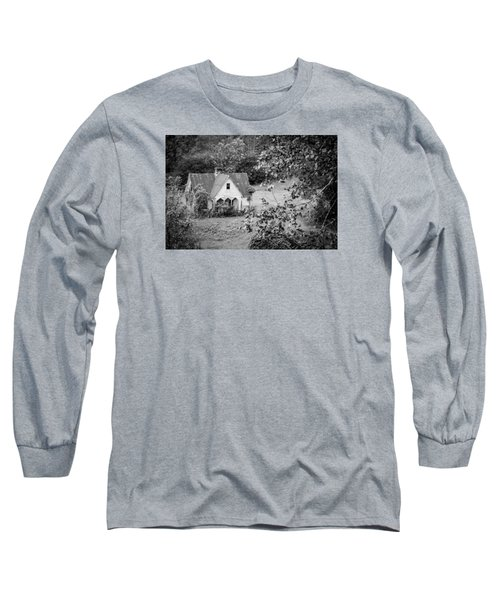 Long Sleeve T-Shirt featuring the photograph Little Victorian Styled Farm House In The Mountains by Kelly Hazel