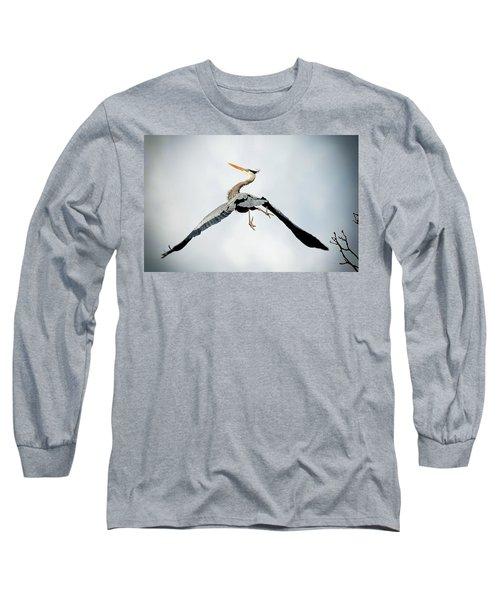 Live Free And Fly Long Sleeve T-Shirt by Rodney Campbell