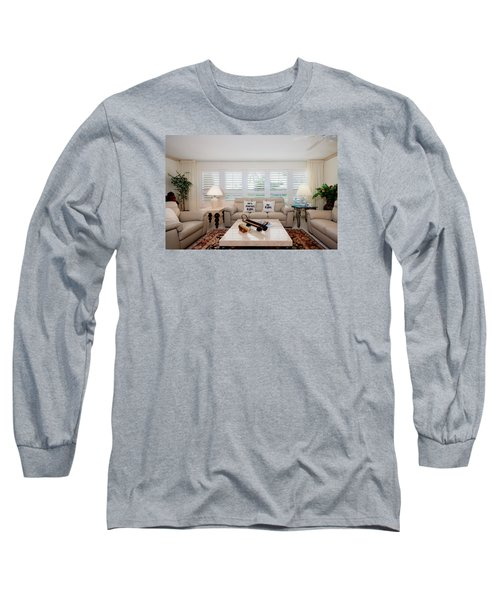 Living Room Long Sleeve T-Shirt