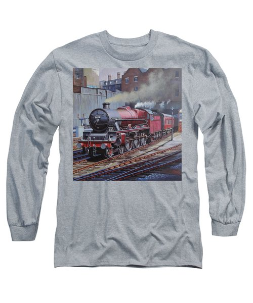 Lms Jubilee At New Street. Long Sleeve T-Shirt by Mike  Jeffries