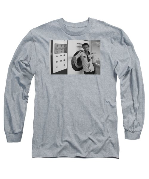 Long Sleeve T-Shirt featuring the photograph Load Me by Jez C Self