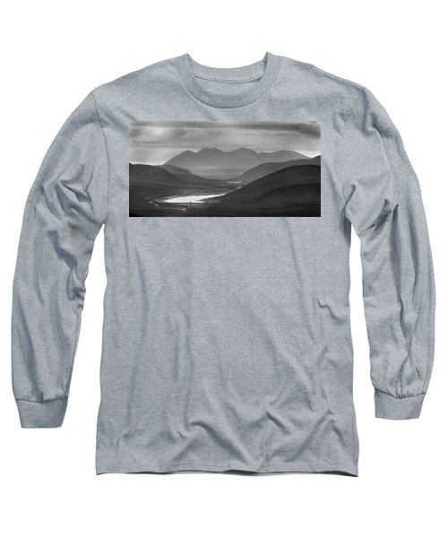 Loch Glascarnoch And An Teallach Long Sleeve T-Shirt