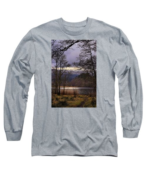 Long Sleeve T-Shirt featuring the photograph Loch Venachar by Jeremy Lavender Photography