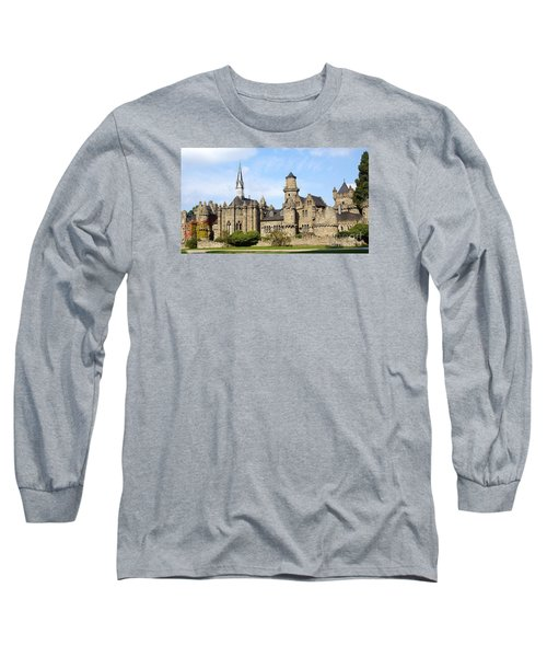 Loewenburg - Lionscastle Near Kassel, Germany Long Sleeve T-Shirt