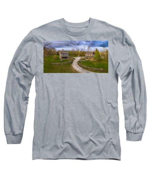 Log Cabins Long Sleeve T-Shirt