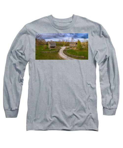 Log Cabins Long Sleeve T-Shirt