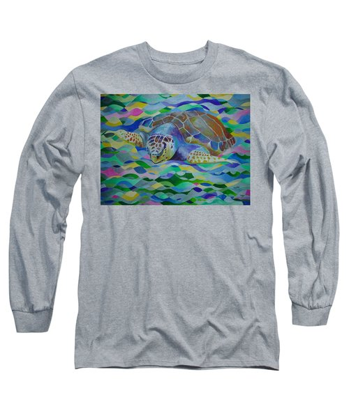 Loggerhead Turtle Long Sleeve T-Shirt