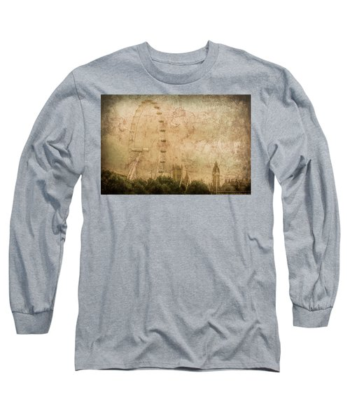 London, England - London Eye Long Sleeve T-Shirt