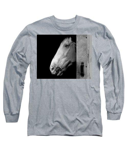 Lone Horse Long Sleeve T-Shirt