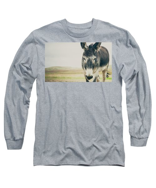 Lone Ranger Long Sleeve T-Shirt by Cynthia Traun