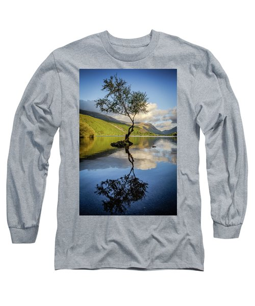 Lone Tree, Llyn Padarn Long Sleeve T-Shirt