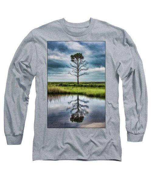 Lone Tree Reflected Long Sleeve T-Shirt