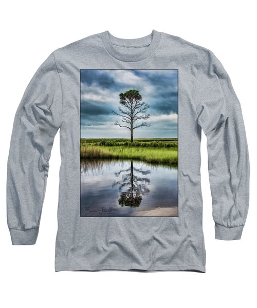 Lone Tree Reflected Long Sleeve T-Shirt