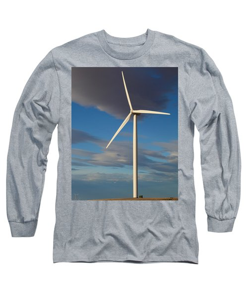 Lone Turbine Long Sleeve T-Shirt