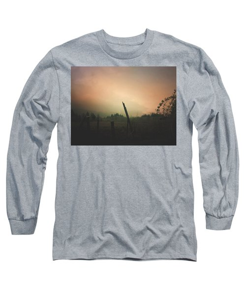 Lonely Fence Post  Long Sleeve T-Shirt