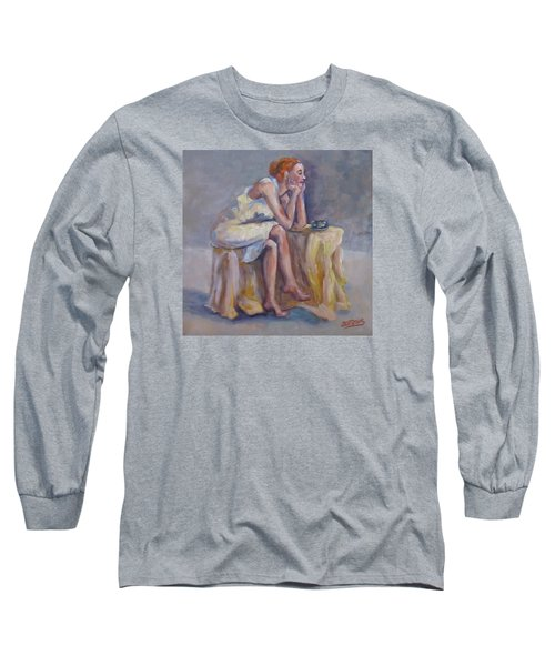 Lonely Mornings Long Sleeve T-Shirt by Barbara O'Toole