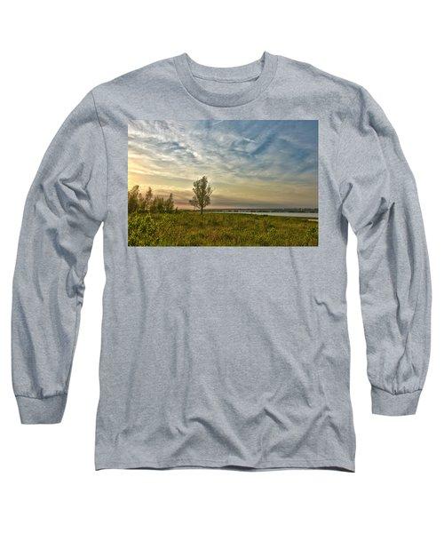 Lonely Tree In Dintelse Gorzen Long Sleeve T-Shirt