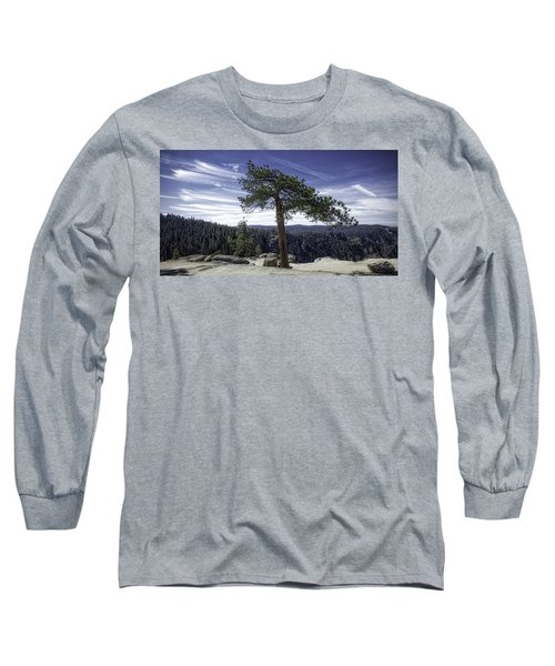 Long Sleeve T-Shirt featuring the photograph Lonesome Tree by Chris Cousins