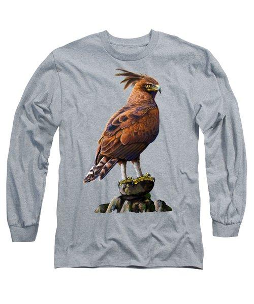 Long Crested Eagle Long Sleeve T-Shirt