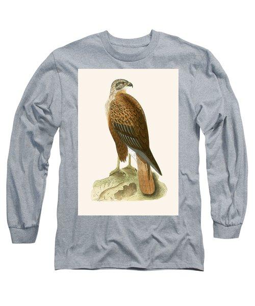 Long Legged Buzzard Long Sleeve T-Shirt by English School