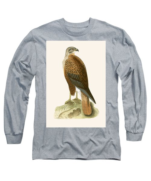 Long Legged Buzzard Long Sleeve T-Shirt