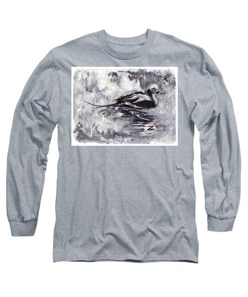 Long-tailed Duck Long Sleeve T-Shirt