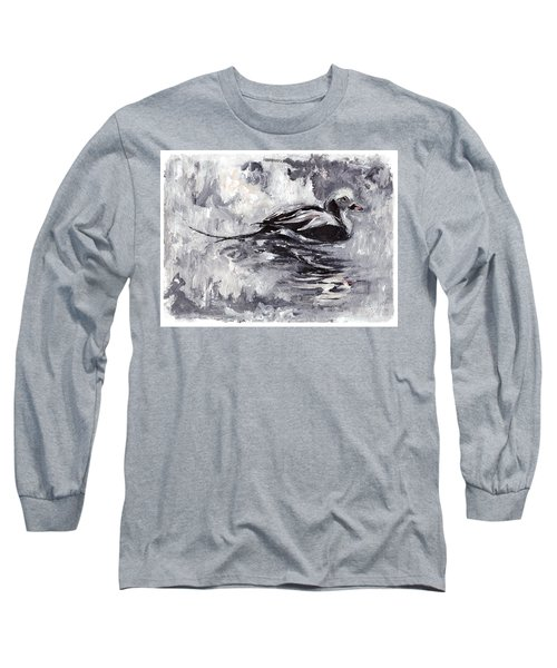 Long-tailed Duck Long Sleeve T-Shirt