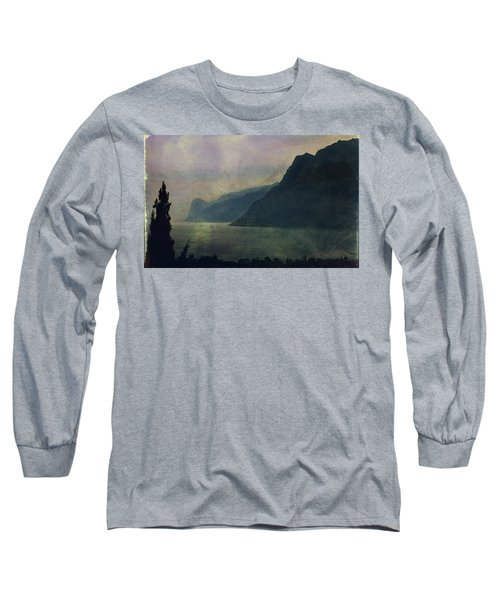 Looking At The Lake... Long Sleeve T-Shirt
