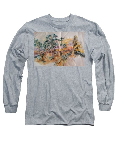 Looking At Van Gogh Album Long Sleeve T-Shirt