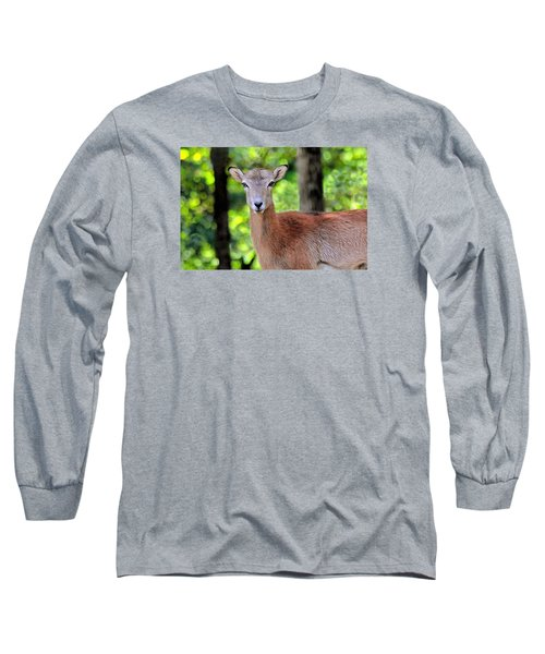 Long Sleeve T-Shirt featuring the photograph Looking At You by Marion Johnson