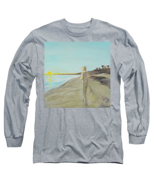 Looking South Tryptic Part 3 Long Sleeve T-Shirt