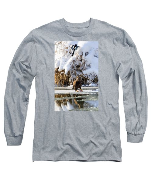 Lookout Above Long Sleeve T-Shirt by Mike Dawson