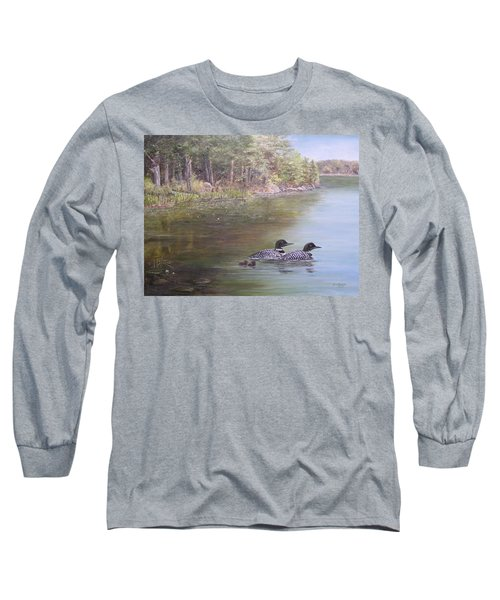 Loon Family 1 Long Sleeve T-Shirt