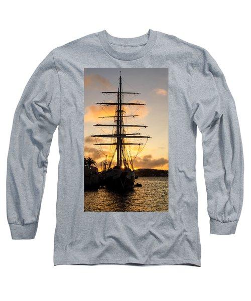 Lord Nelson Sunrise Long Sleeve T-Shirt by Jeff at JSJ Photography