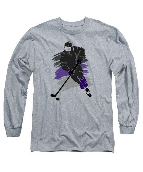 Los Angeles Kings Player Shirt Long Sleeve T-Shirt by Joe Hamilton