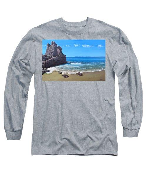 Los Muertos Beach Long Sleeve T-Shirt