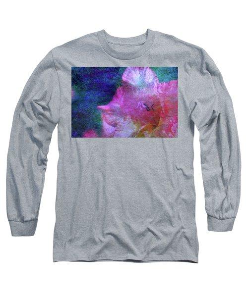 Lost Gladiolus Blossom 3018 L_2 Long Sleeve T-Shirt