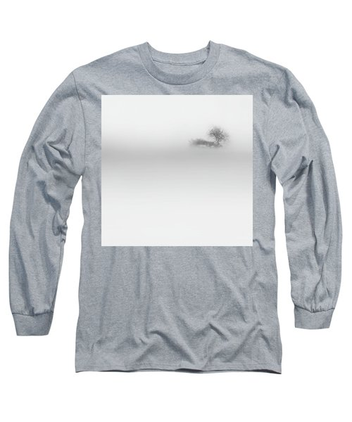 Long Sleeve T-Shirt featuring the photograph Lost Island Square by Bill Wakeley