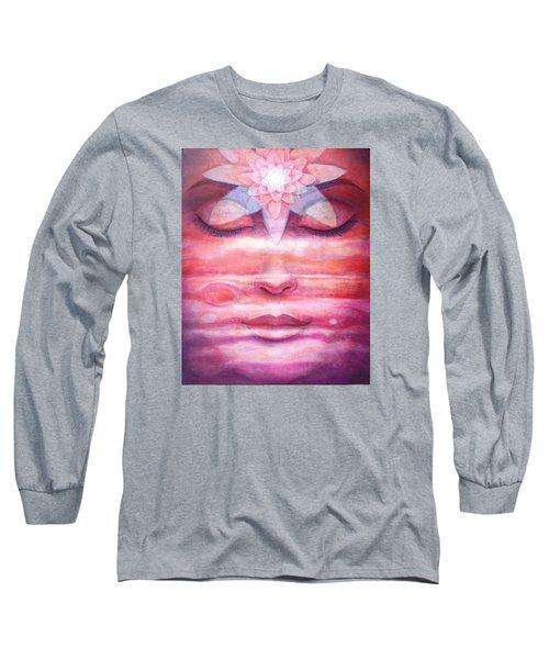 Lotus Meditation, Jupiter Clouds Long Sleeve T-Shirt